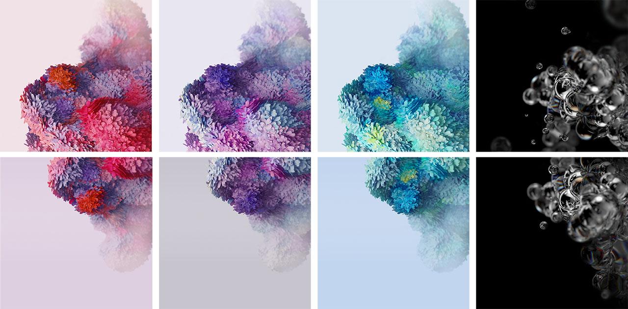 Download Samsung Galaxy S20 Wallpaper Dan Video Langsung