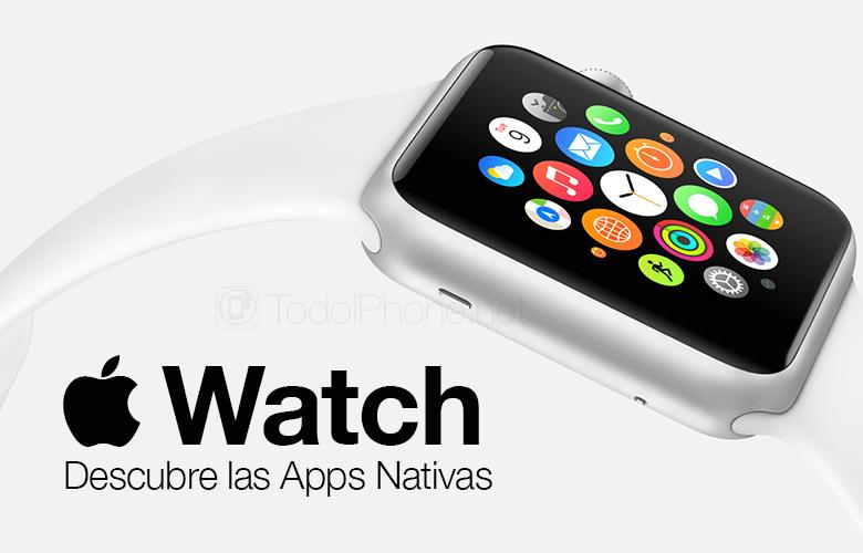 Hän Apple Watch ja alkuperäinen sovellus, löydä ne