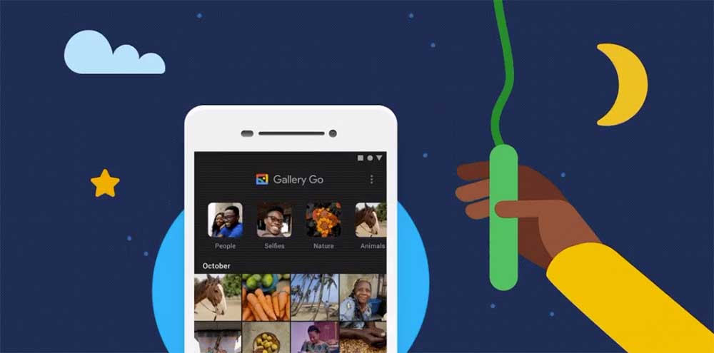Dark mode arrives at Gallery Go photo app 1