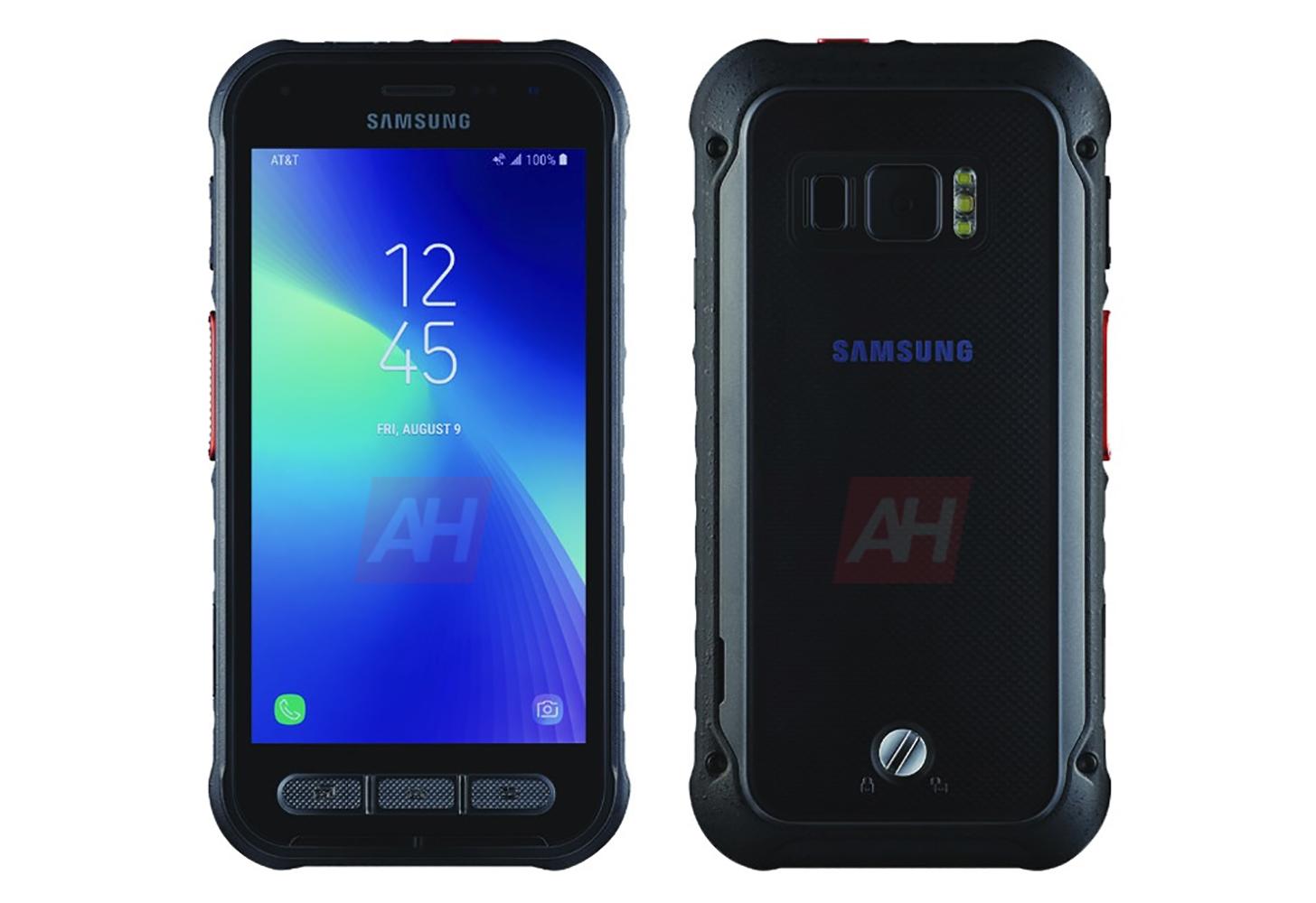 Uusi Samsung Galaxy S Aktiivinen AT&T -puhelin näkyy kuvassa …