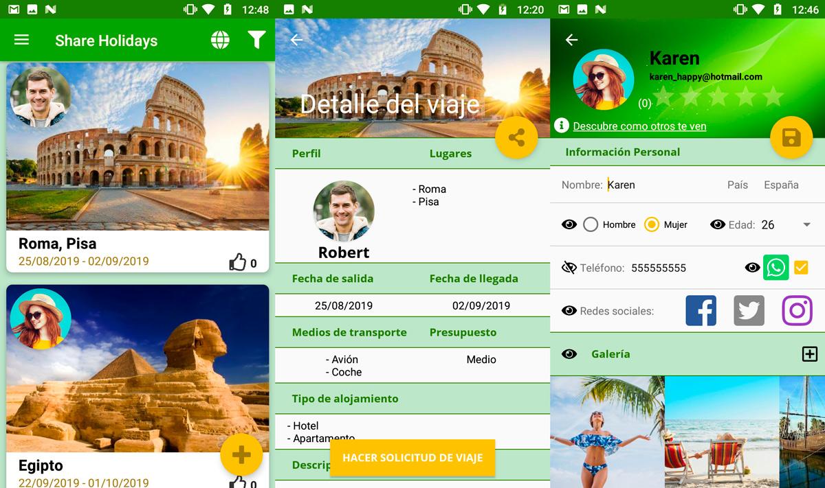 Ini adalah aplikasi yang sempurna untuk menemukan orang untuk bepergian