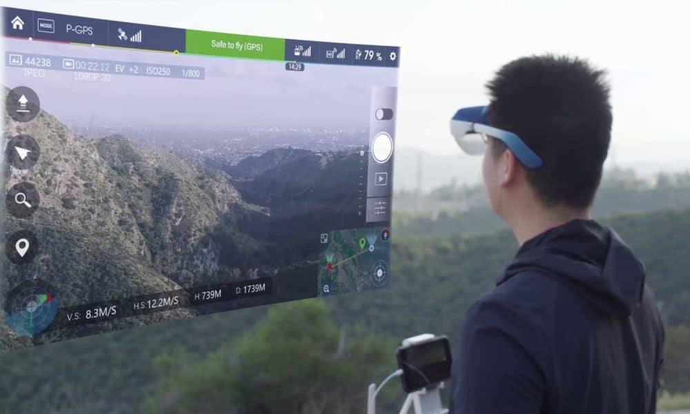 Tämä AR-kuuloke muuntaa minkä tahansa lähteen 100 tuuman näytöksi