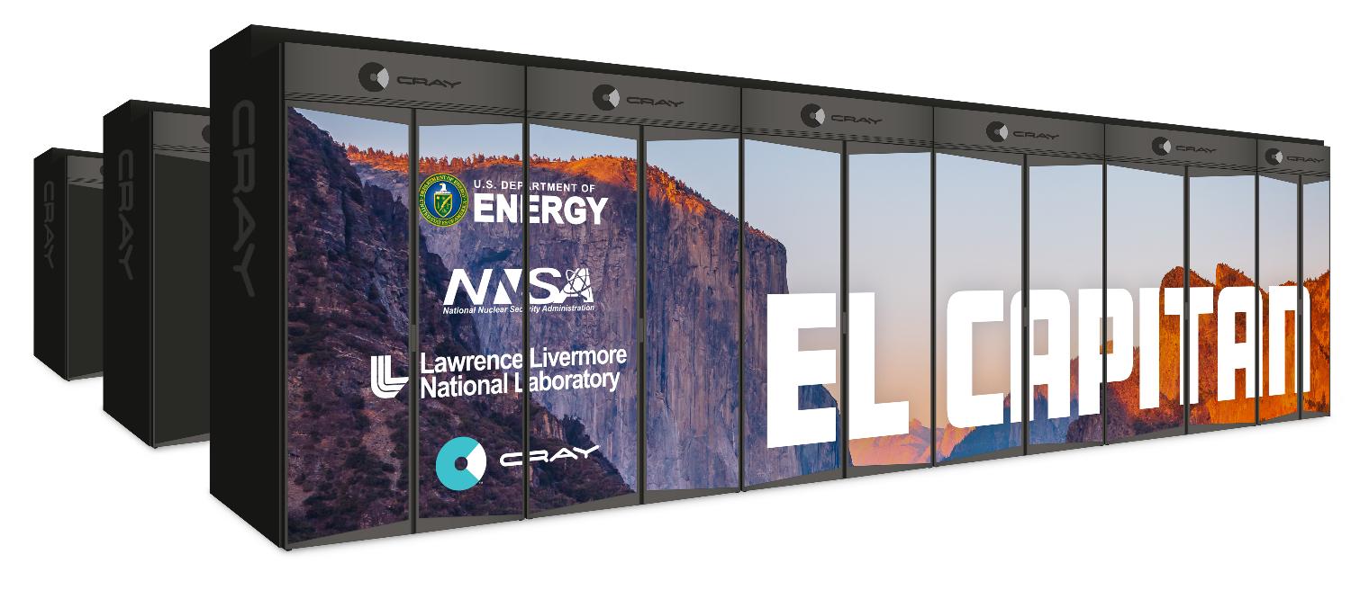 Tämä on 'El Capitan', maailman nopein uusi supertietokone …