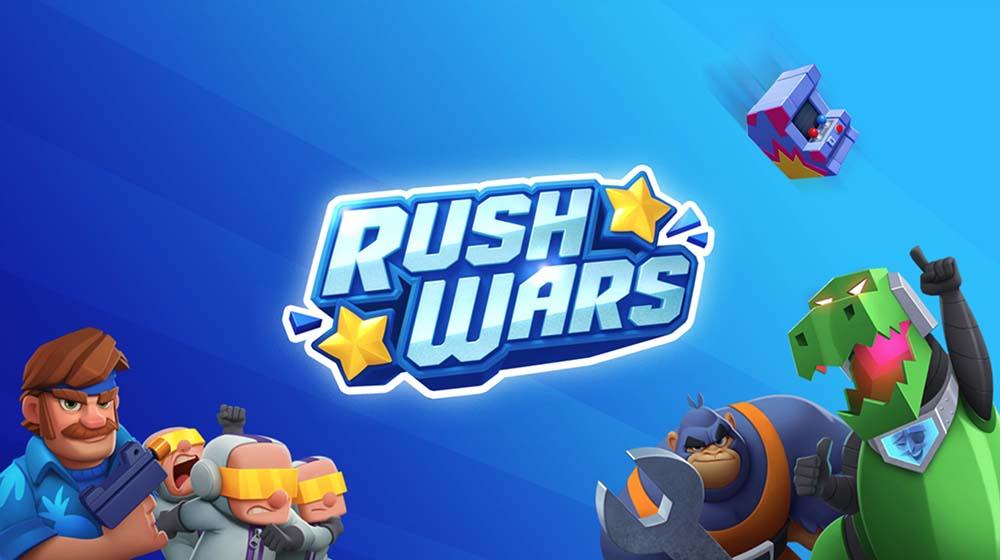 Ini semua yang ditambahkan Rush Wars dalam pembaruannya