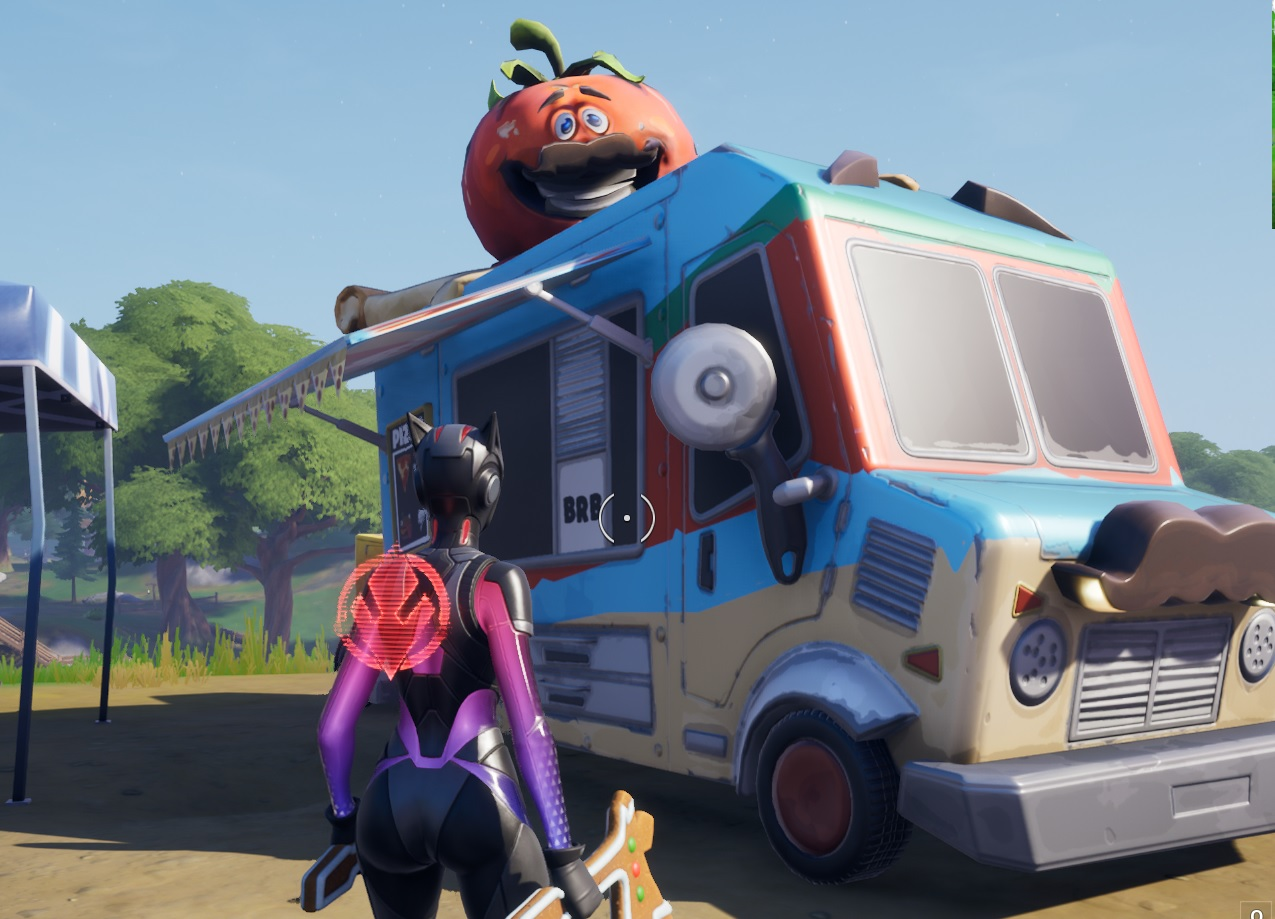 Fortnite: Chapter 2 - Where to find different food trucks 1
