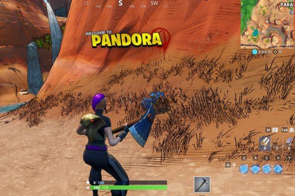 Fortnite  Temporada 10: Bienvenido al desafío de Pandora. 2