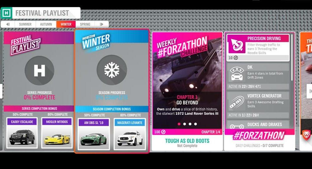 """Forza Horizon 4 #Forzathon elokuu 1522: """"Tukevat kengät kuin ne …"""