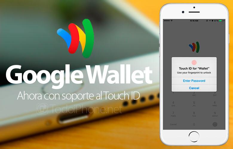 Google Wallet sekarang memiliki dukungan untuk Touch ID 1