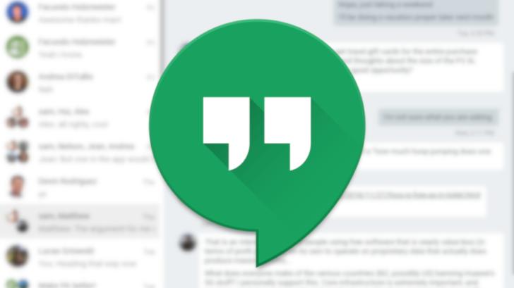 Google menambahkan fitur pelaporan pengguna baru ke layanan Hangouts yang sekarat