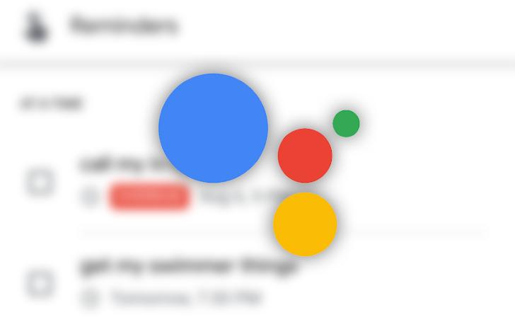 Google memaksa pengingat untuk melewati Asisten