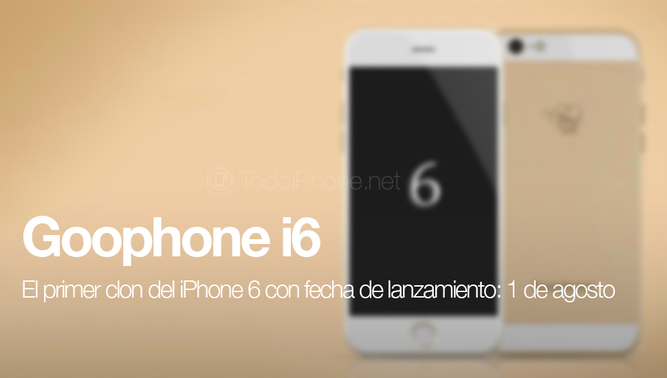 Goophone i6, iPhonen ensimmäinen klooni 6 päivätty …