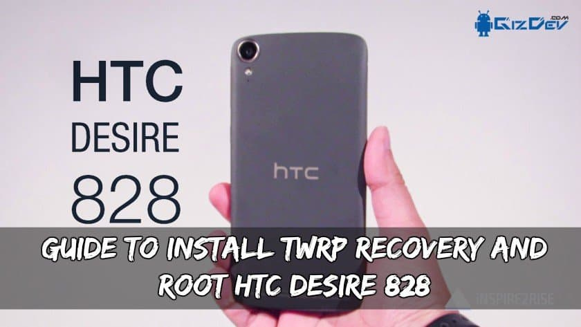 Opas HTC Desire 828 TWRP Recovery and Root -ohjelman asentamiseen