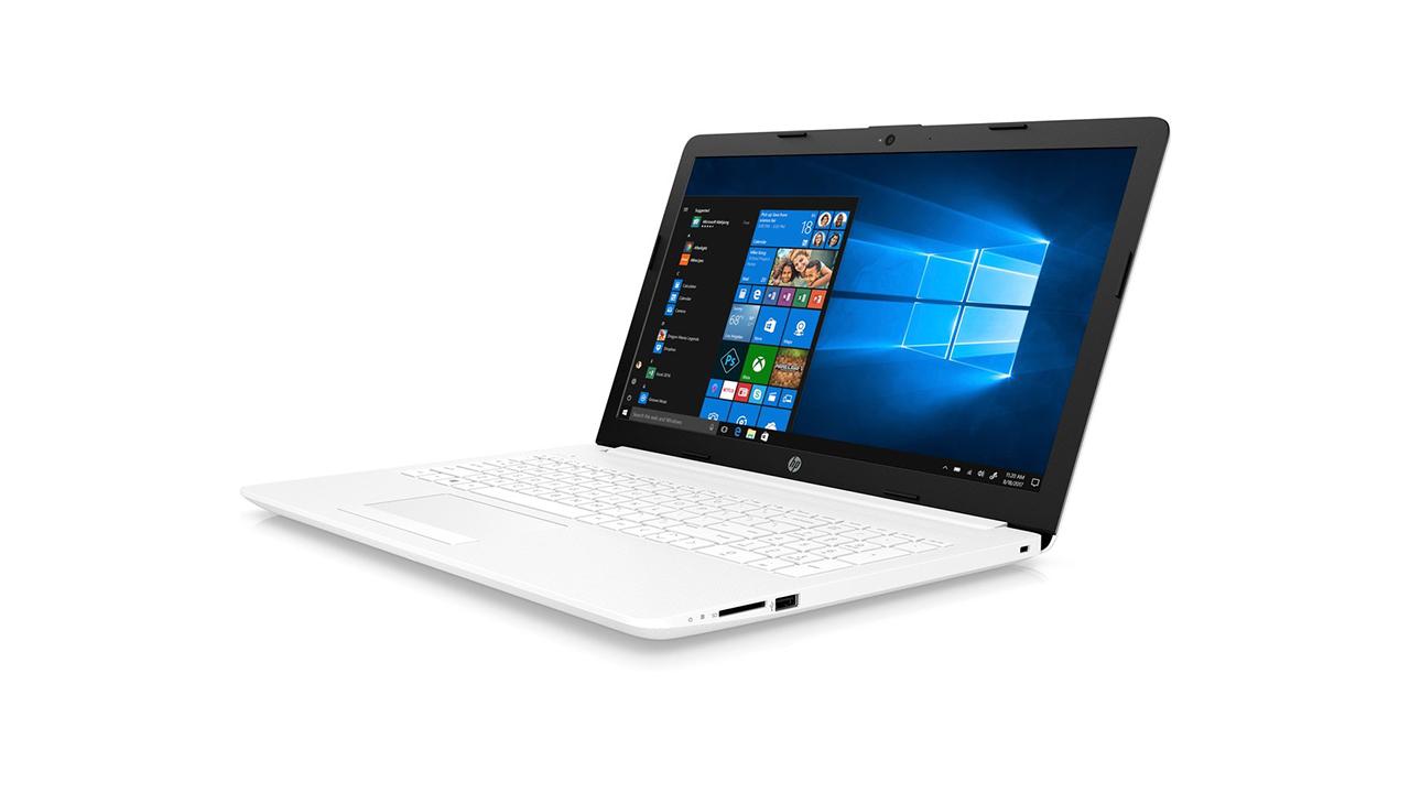 HP 15-DA1056NS, mitä tämä valkoinen kannettava tietokone tarjoaa?