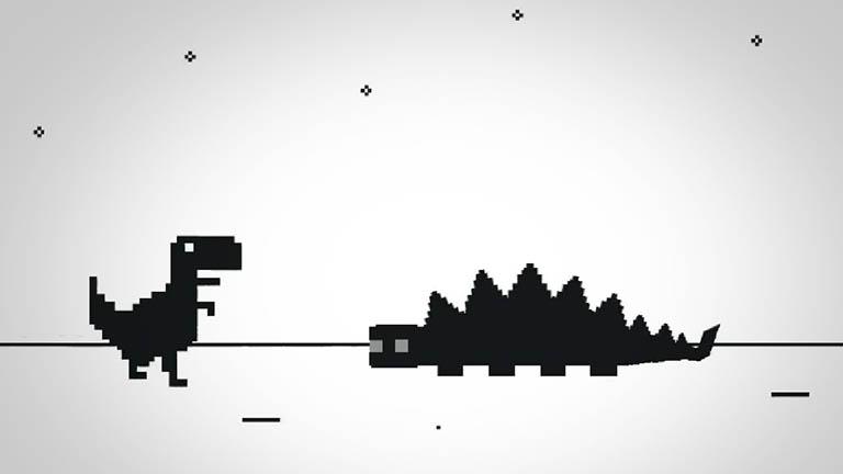 chrome dinosaur hidden game