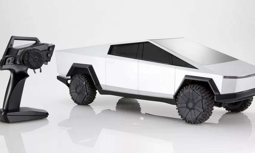 Hot Wheels membuat kendaraan Tesla Cybertruck yang dikendalikan dari jarak jauh dan saya harus memilikinya
