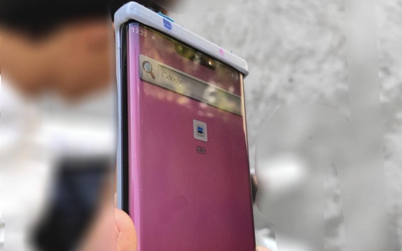 Huawei Mate 30 Pro wygląda naturalnie dzięki ultra-zakrzywionemu ekranowi
