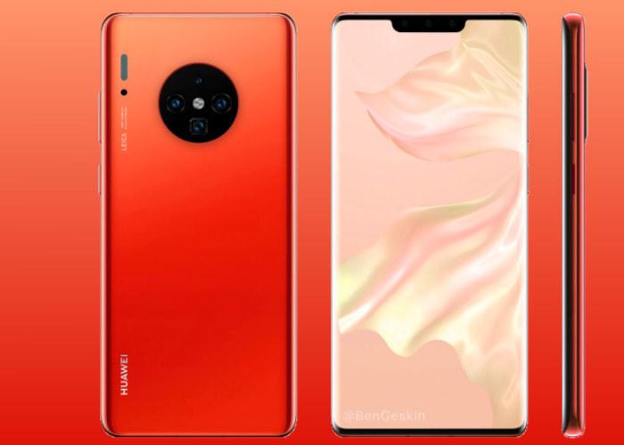 El Huawei Mate 30 muestra su notch en imágenes reales