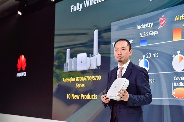 Huawei lanza productos Wi-Fi AirEngine 6, Acelerando empresas para entrar en la era del campus totalmente inalámbrico 2