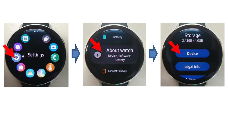 Gambar hands-on dari Samsung Galaxy Tonton Aktif 2 yang diungkapkan oleh FCC