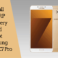 Instalar Samsung TWRP Recovery And Root Galaxy C7 Pro
