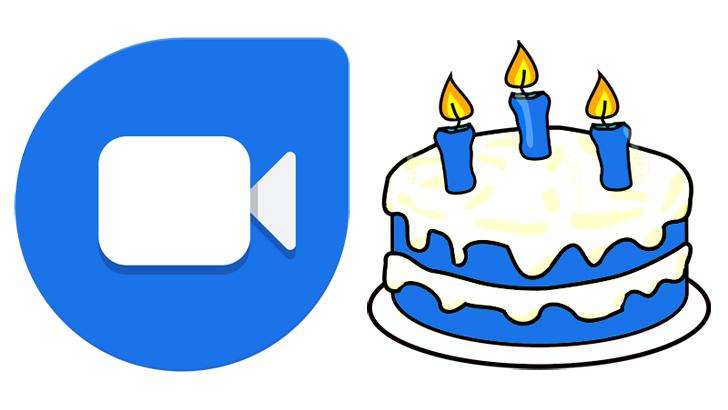 Knock Knock! Selamat ulang tahun ketiga, Google Duo