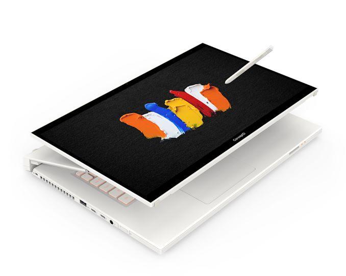 Procesor Intel 10H Gen-10 10. generacji opisany w Acer ConceptD 7 Ass