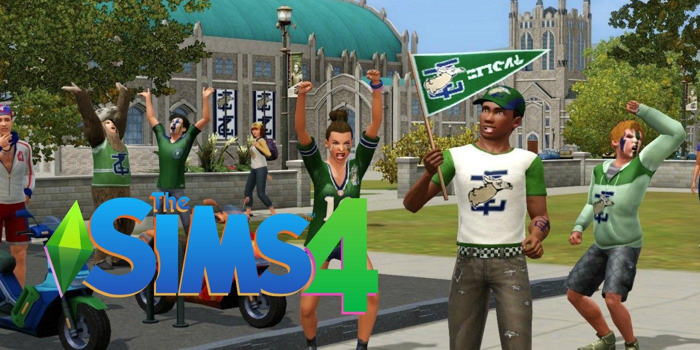 The Sims 4 University Life Expansion Dikabarkan 1