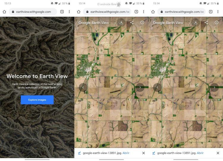 Cara memiliki wallpaper Google Earth yang paling mengesankan