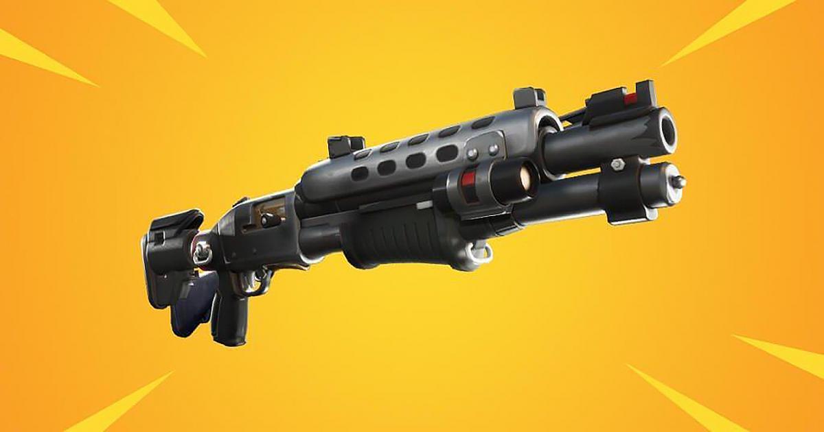 Shotgun Taktis Legendaris akan datang ke 'Fortnite Battle Royale '