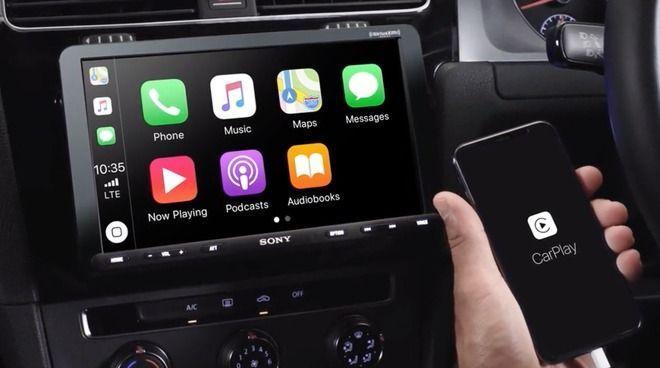 Unit Infotainment CarPlay Baru Sony Menempatkan Tablet Di Mobil Anda