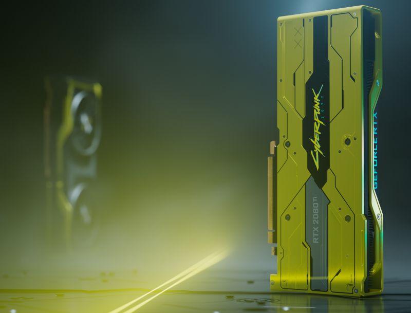 NVIDIA GeForce RTX 2080 Ti CyberPunk 2077 Edition näytönohjain …
