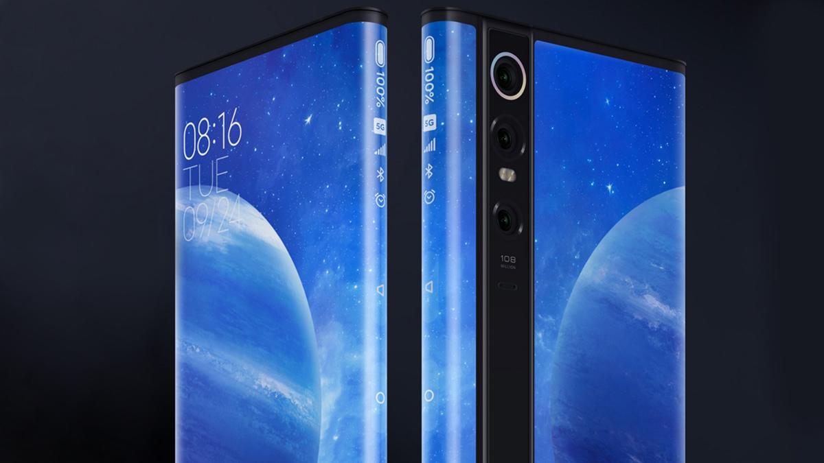 Xiaomi Mi MIX Ponsel konsep Alpha 5G dirilis dengan layar melengkung 4D 1