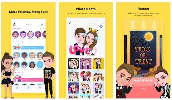 Android / iPhone üçün ən yaxşı avatar yaratmaq tətbiqetmələri