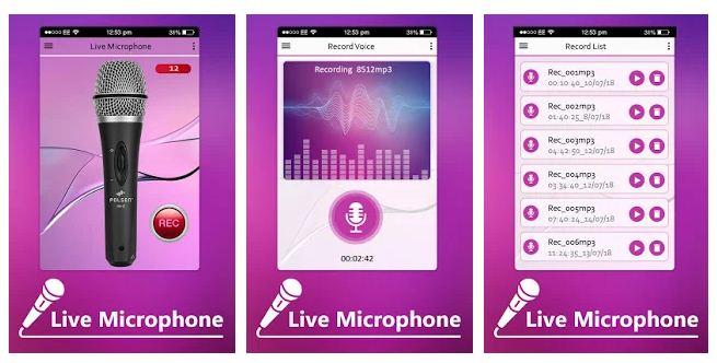 10 parasta live-mikrofonisovellusta (Android / iPhone) 2020