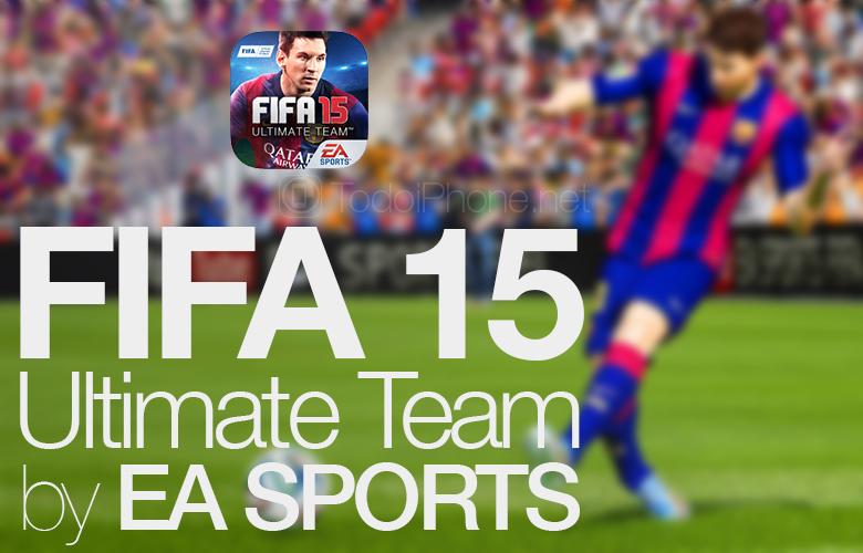Transfer tiba di Tim Utama FIFA 15 untuk iPhone dan iPad 1