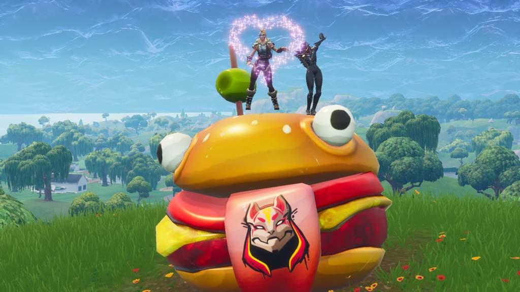 Drift Painted Durrr Burger Head