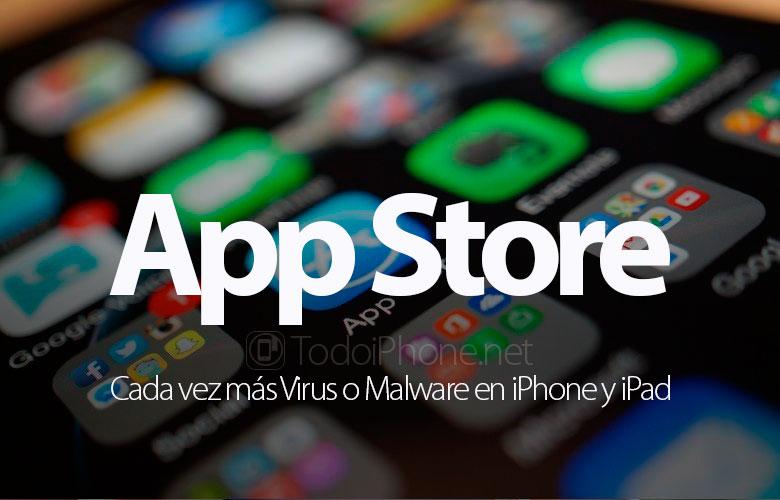 Más virus o malware en iPhones y iPads 2