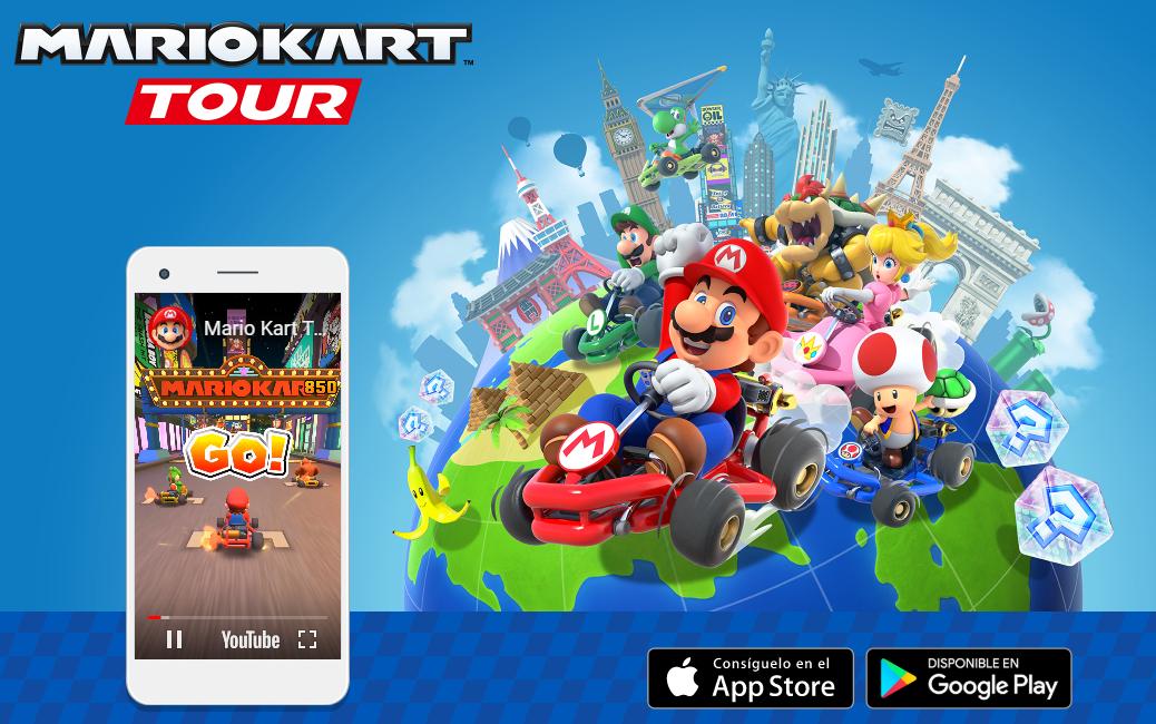 Mario Kart Tour, ya disponible para iOS y Android