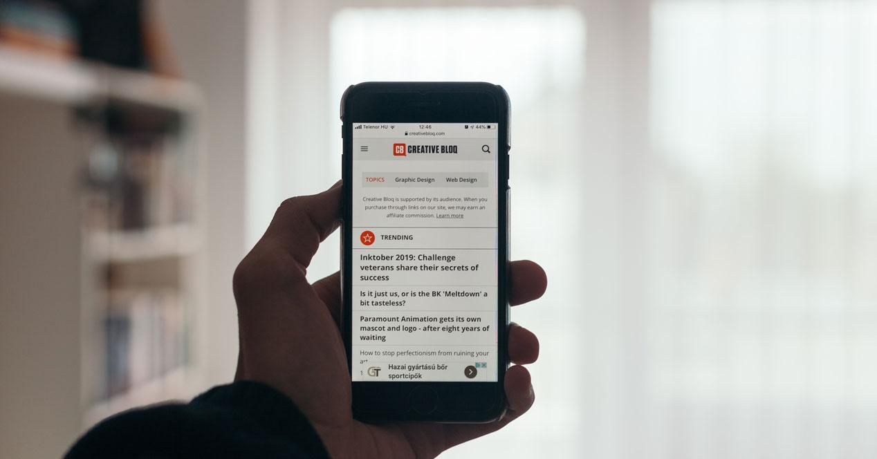 Guardar como marcadores todas las pestañas de Safari para iPhone