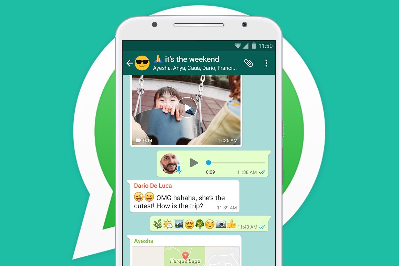 Pesan WhatsApp yang besar dan dipersonalisasi 1