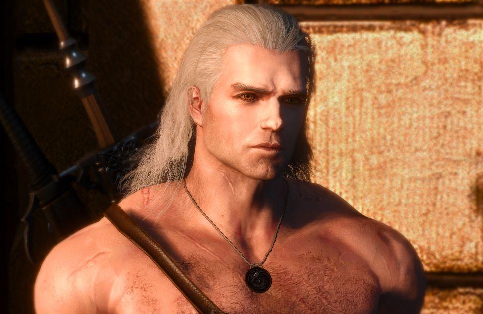 Mod Witcher 3 tämä muutti Geraltin Riviasta Henry Cavilliin