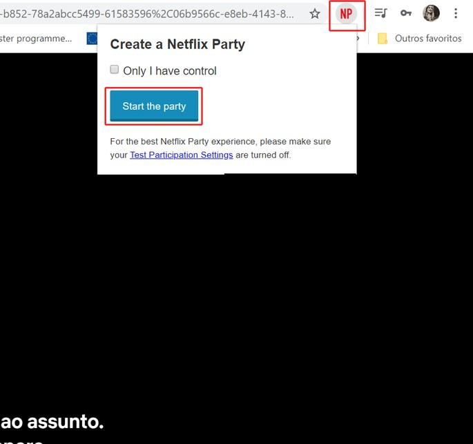 Fiesta de Netflix