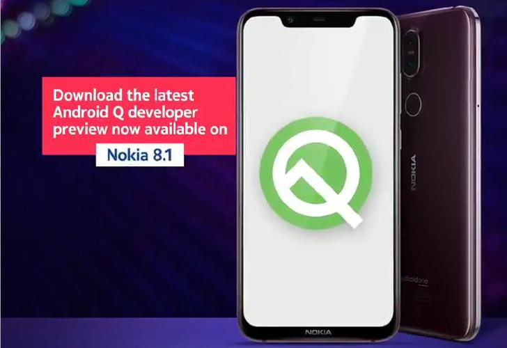 Nokia 8.1 Android Q Beta 5 lisää radikaalit kulmaliikkeet Google Assistant