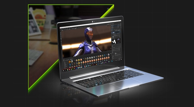 Nvidia Woos Creative dengan Laptop RTX Studio Baru