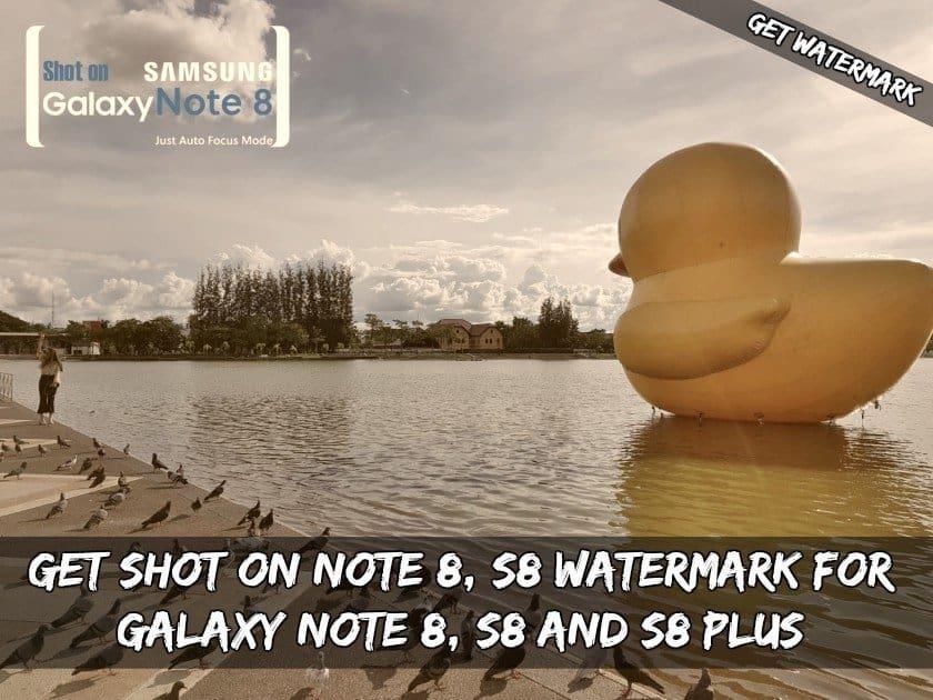 Chụp tại watermark máy ảnh Galaxy Note  8, ... 1