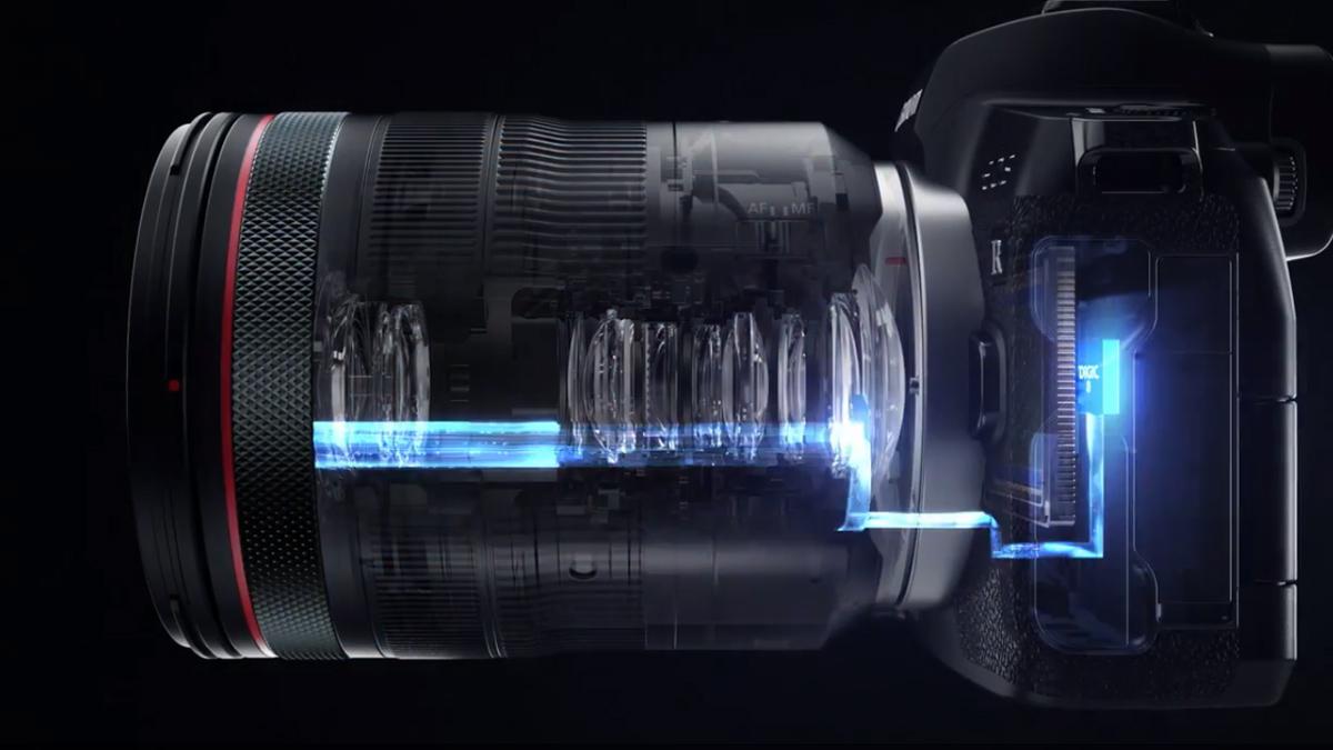 Paten Canon untuk fokus yang dikendalikan mata tanpa kamera 1
