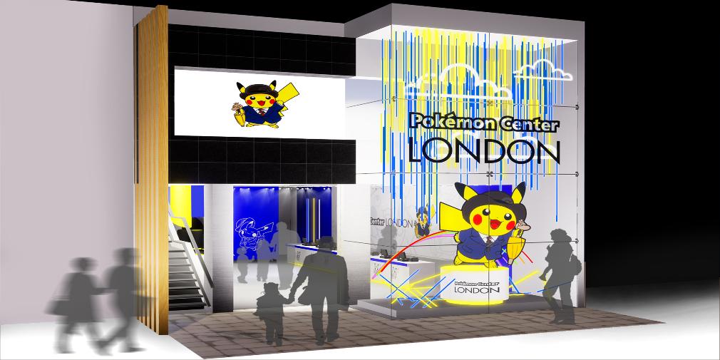 Pokemon  El Centro se abrió en Londres por tiempo limitado. 2