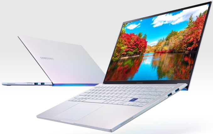 Laptop Ultralight dengan Monitor QLED & Danau Comet