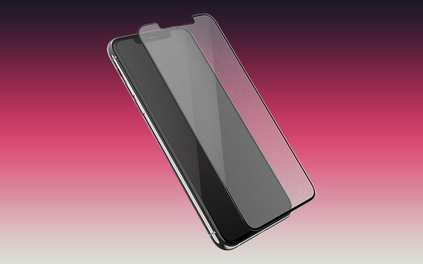 Screen Protection - This film kills 99% of bacteria smartphones 1