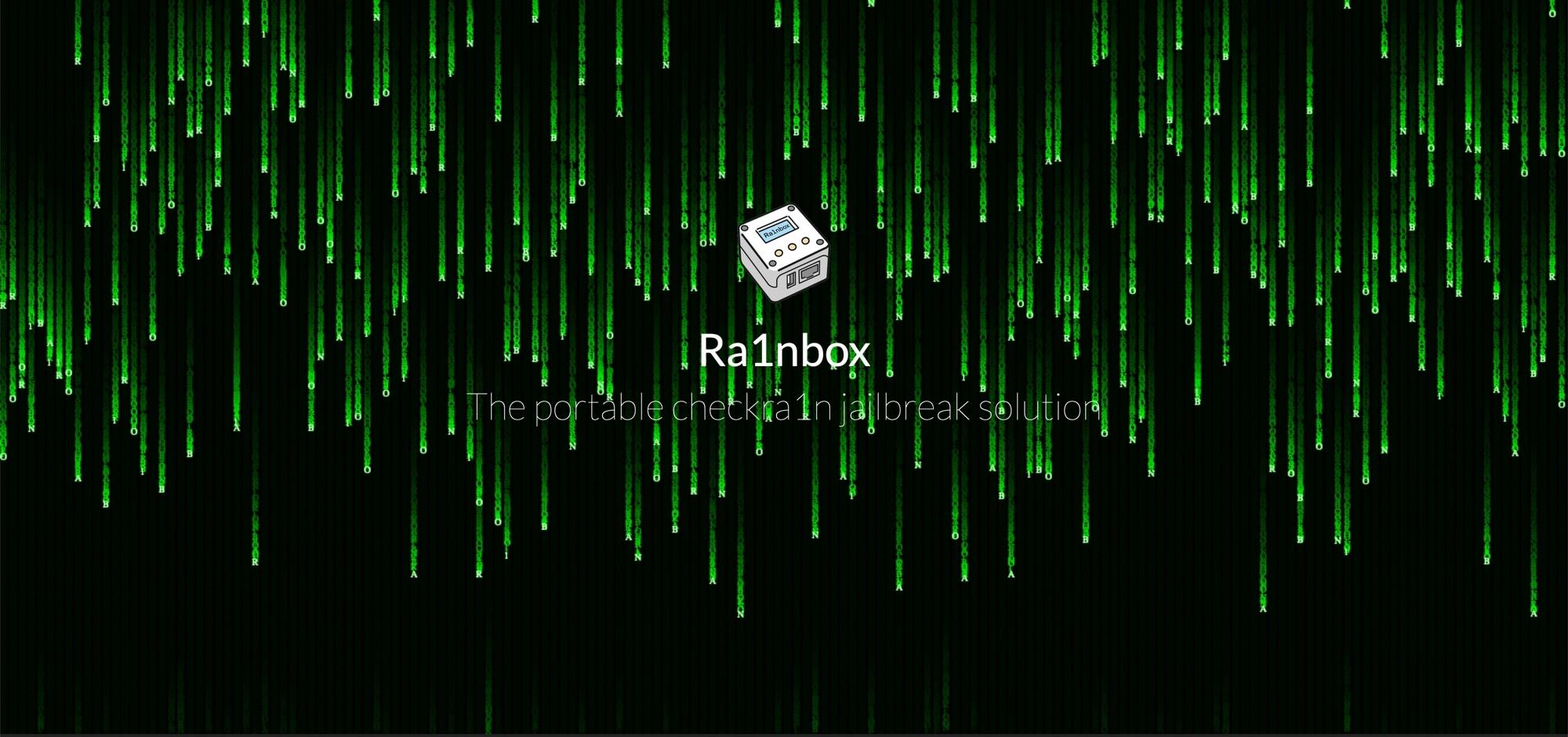 Ra1nbox es una caja con alimentación NanoPi Neo2 que puede distribuir checkra1n sin una computadora
